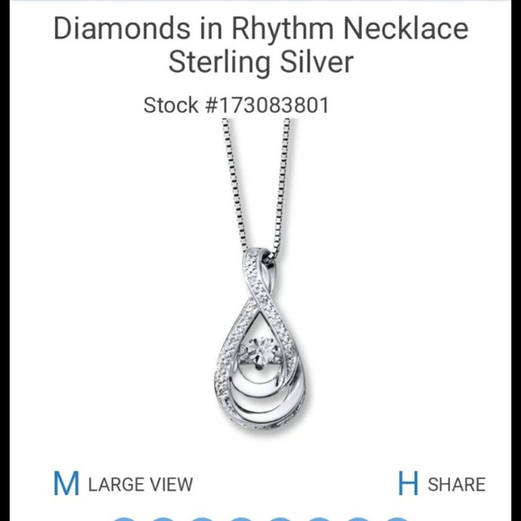 aa605d250 Kay Jewelers Jewelry - Kay Jewelers rhythm in motion necklace